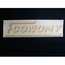 Economy Tractor 7 inch Vinyl Cut Decal (VE89)