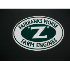 Fairbanks Morse Engine Fairbanks Morse Z Farm Engine 4 inch Vinyl Cut Decals (VFM2273)