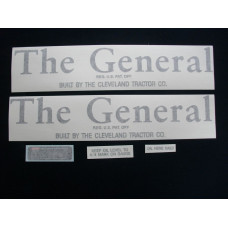 Miscellaneous The General Vinyl Cut Decal Set (VG102)