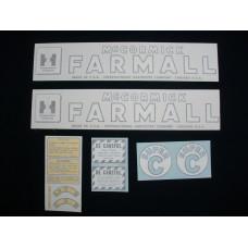 Farmall Super C Vinyl Cut Decal Set (VI147)