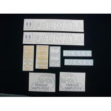 Farmall Super MTA Diesel Vinyl Cut Decal Set (VI239)