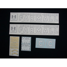 Farmall C Vinyl Cut Decal Set (VI283)