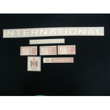 International Harvester 311 plow Vinyl Cut Decals (VI391)