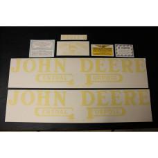 John Deere B unstyled Mylar Cut Decal Set (JD101)