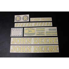 John Deere R diesel Mylar Cut Decal Set (JD143)