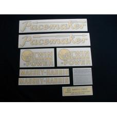 Massey Harris Pacemaker Tractor Vinyl Cut Decal Set