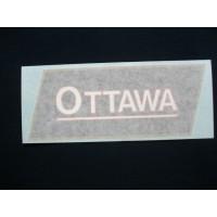 Ottawa Engine Ottawa (gold/blk/wht/red) Vinyl Cut Decals (VOT101)