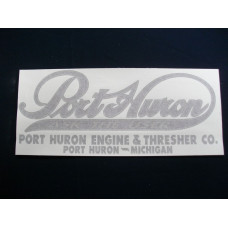 Port Huron Tractor Huron (each) Vinyl Cut Decal (VPH100)
