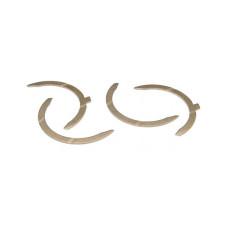 Perkins | Caterpillar Engines (Diesel, Gas, LP) .007 Thrust Washer Set (Offset Lug) (202, 212, 236, 243, 248, 258, 269, 365, 366)