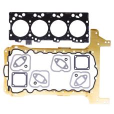Inframe Gasket Set fits CNH NEF Iveco Fiat Engines (N45) - Diesel (includes 1.15mm thick head gasket, pan gasket 2830645 (metal))