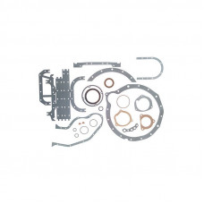 Case Engines (Diesel) Lower Gasket Set with Seals   1030 Tractor (401D, 451D, 451D Turbo)