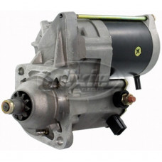 Case | Case IH MX100 Tractor Starter - with 3 Bolt, Gear Reduction Nippondenso Starter