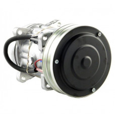 Hesston-Fiat 8400 Windrower Sanden Compressor with Clutch - New | 8804478