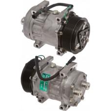 Case   Case IH 721D Wheel Loader Sanden Compressor with Serpentine Clutch - New   8808144