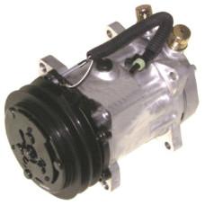 JCB 406 Wheel Loader Sanden Compressor with Clutch - New | 8812304998
