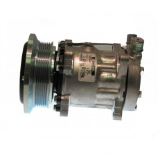 Ford | New Holland 1095 Bale Wagon Sanden Compressor with Serpentine Clutch - New | 8814600