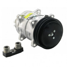 Hesston-Fiat 8400 Windrower Compressor with Clutch - New | 8814621046