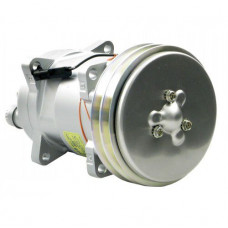 Hesston-Fiat 8400 Windrower Sanden Compressor with Clutch - New | 8819571