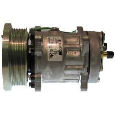 Caterpillar 980G Wheel Loader Sanden Compressor with Serpentine Clutch - New | 882180324