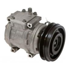 Kubota M110DTC Tractor Nippondenso Compressor with Clutch - New | 8833770-50050