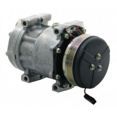 AGCO DT180A Tractor Sanden Compressor with Serpentine Clutch - New