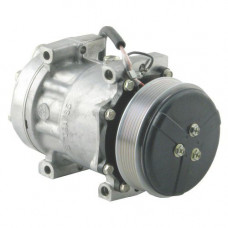 Challenger MT555B Tractor Sanden Compressor with Serpentine Clutch - New | 884281803