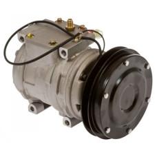 Komatsu WA300 Loader Nippondenso Compressor with Clutch - New