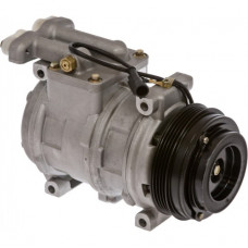 Ford | New Holland CR970 Combine Nippondenso Compressor with Serpentine Clutch - New