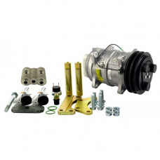 John Deere 2855N Tractor Conversion Kit Delco A6 to Sanden Style Compressor - New