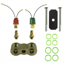 John Deere 985HY-4 Combine Dual Pressure Switch Kit with 3/4 inch Spacer