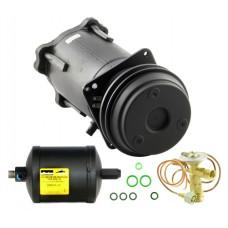 John Deere 1075HY-4 Combine Compressor/Drier/Valve Kit - with Remanufactured Compressor