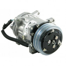 Ford | New Holland FR9060 Forage Harvester Sanden Compressor with Clutch - New | 8884018078