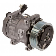 Ford | New Holland HW325 Windrower Sanden Compressor with Serpentine Clutch - New