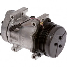 Ford | New Holland T6010 Tractor Compressor with Serpentine Clutch - New