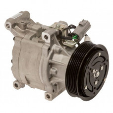 John Deere 4320 Compact Tractor Nippondenso Compressor with Serpentine Clutch - New
