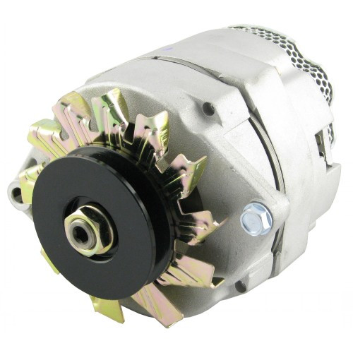 Case | Case-IH 1070 Alternator | 89017575N  Case Tractor Alternator Wiring Diagram on