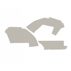 Case   Case IH 5120 Cab Kit without Headliner - Gray