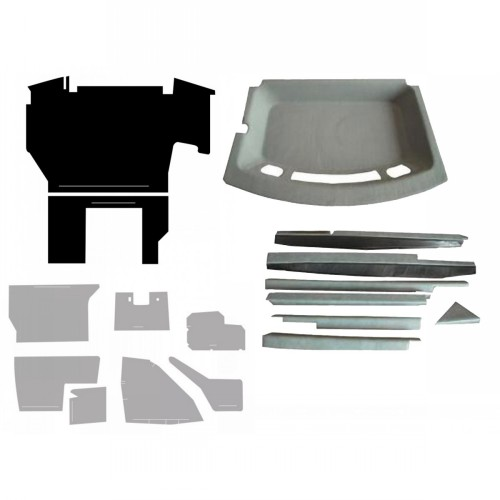 7250 Case Decal Kits : Case ih complete cab interior kit gray ca