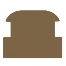 John Deere 3650 Escape Hatch for Headliner - Brown
