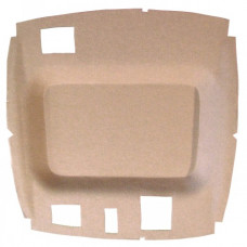 John Deere 6510 Headliner - Formed - Cloth- Tan