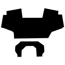 John Deere 6400 Floor Mat - 2 Pieces