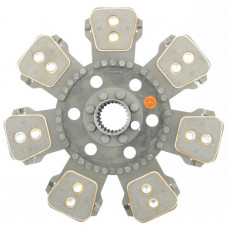 Allis Chalmers | AGCO Allis 7630 Tractor 14 inch Trans Disc - 7 Large Pads with 2 inch 24 Spline Hub - New