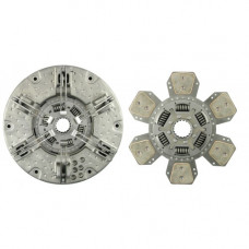 Hesston-Fiat 180-90DT Tractor 12-1/4 inch Pressure Plate - with 2 Discs - New