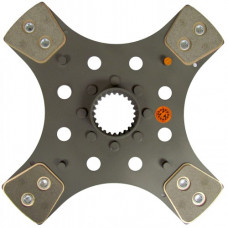Mahindra 5530 Tractor 12-1/4 inch PTO Disc 4 Pad 1-15/16 inch 24 Spl.