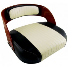International Harvester 560 Embossed Cream Vinyl Seat with Frame and Assembled | S371585ECAFX(560)