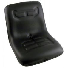 Massey Ferguson 1225 Black Vinyl Bucket Seat without Suspension