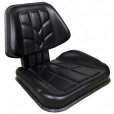 Massey Ferguson 8220 Black Vinyl Seat with Mechanical Suspension