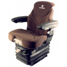 John Deere 8700 Brown Fabric Seat with Air Suspension