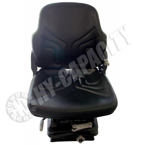 Ford   New Holland Tractor Black Vinyl Suspension Seat (S8301580)