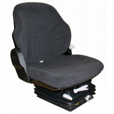 Aftermarket (Not OEM) Bobcat 320 Black Fabric Seat, w/ Mechanical Suspension